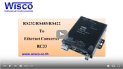 RC33: RS-232/RS-485/RS-422 To Ethernet